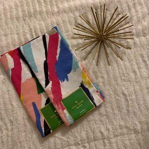 NWT Kate Spade Brush Stroke Set of Napkins